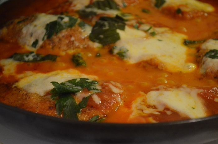 parm in the skillet