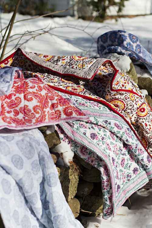 Safiya's Room Blankets