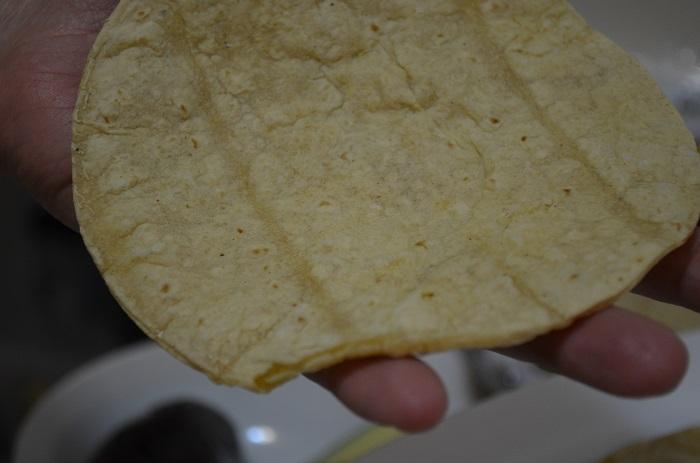 prepare to fill taco