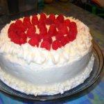 raspberry cake- ny
