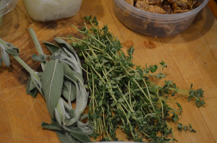 sage and thyme