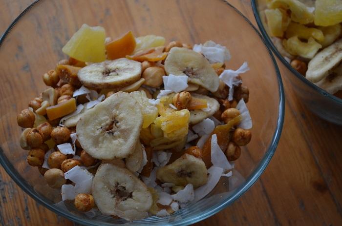 snack mix individual bowls