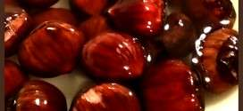 soak chestnuts in water
