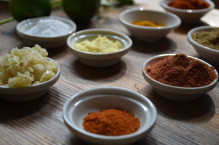 spices for Tandoori Chicken