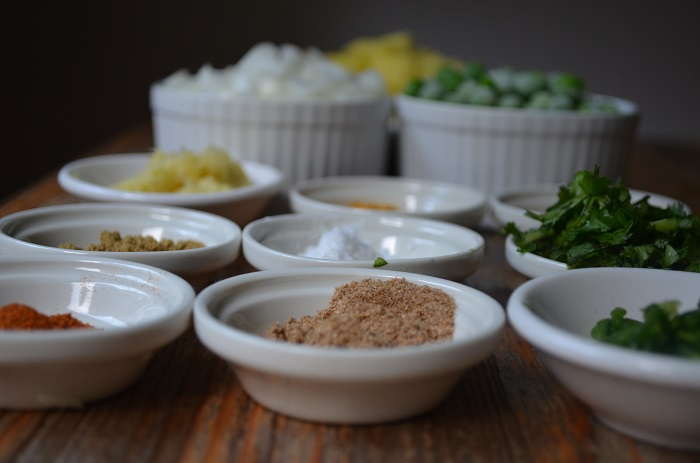 spices for beef samosa