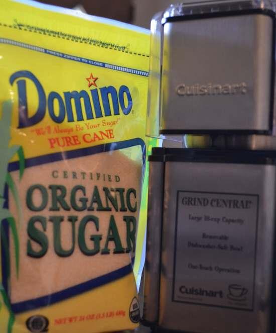 sugar and coffee grinder