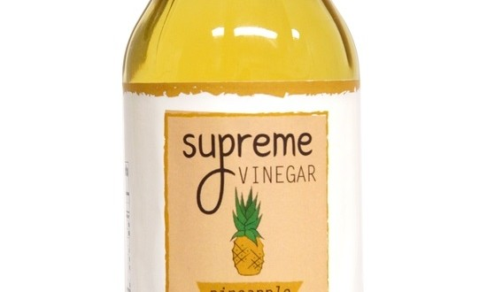 Supreme Pineapple Vinegar Giveaway | My Halal Kitchen