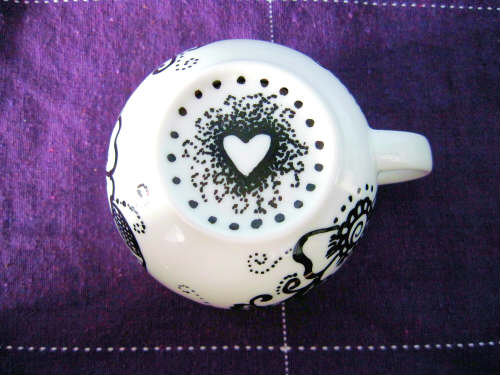 underside view mug