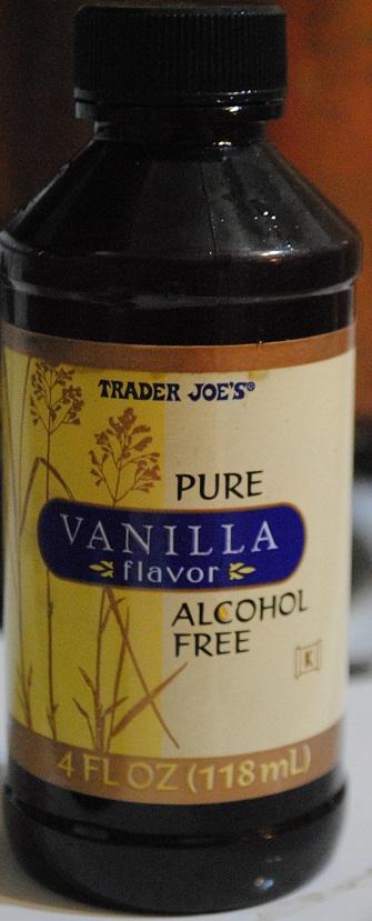 vanilla flavor trader joes