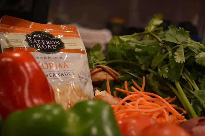 veg korma ingredients