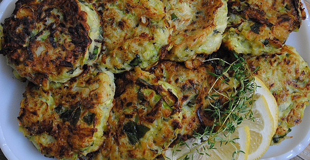 Zucchini Fritter | My Halal Kitchen